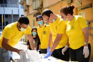 סיינטולוגים ישראלים מספקים עזרה בעת המשבר